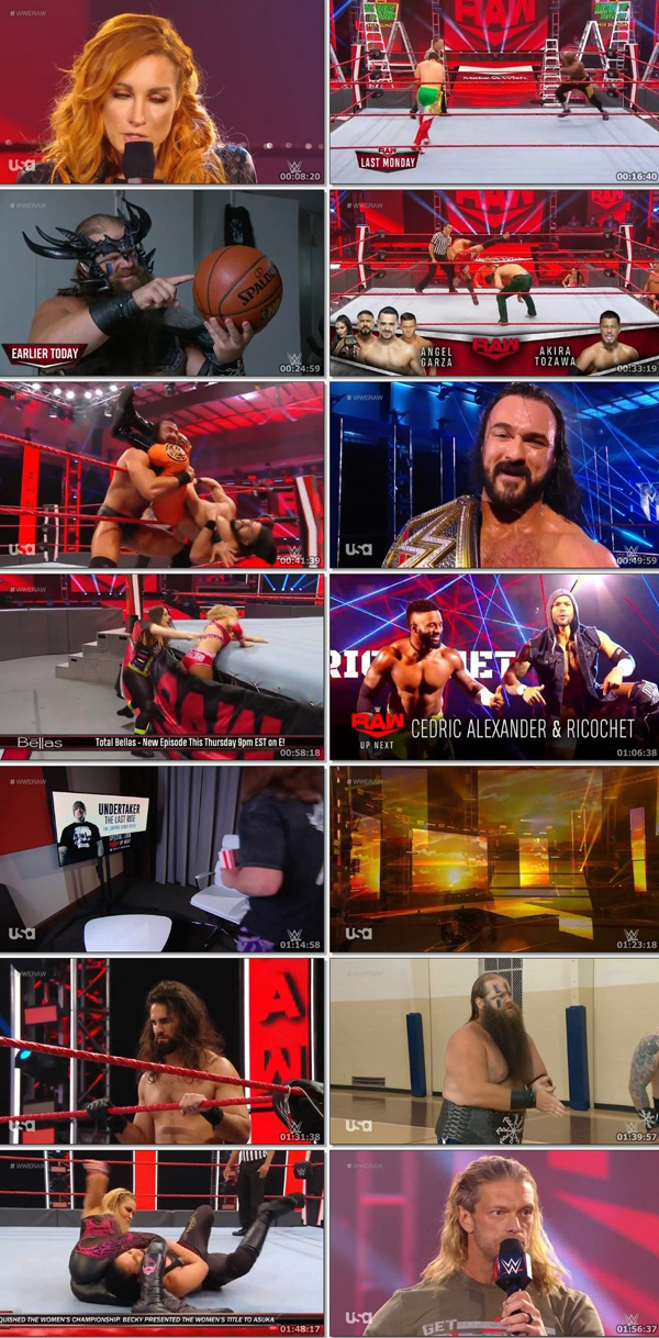 Download WWE Monday Night RAW Live 11 May 2020 ORG English 400MB movie