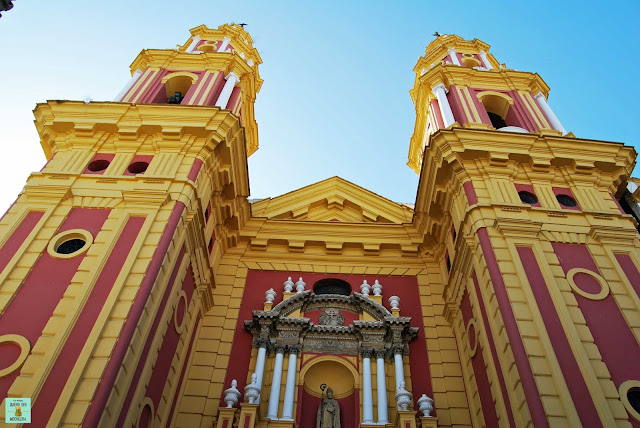 Iglesia de San Ildefonso, Sevilla