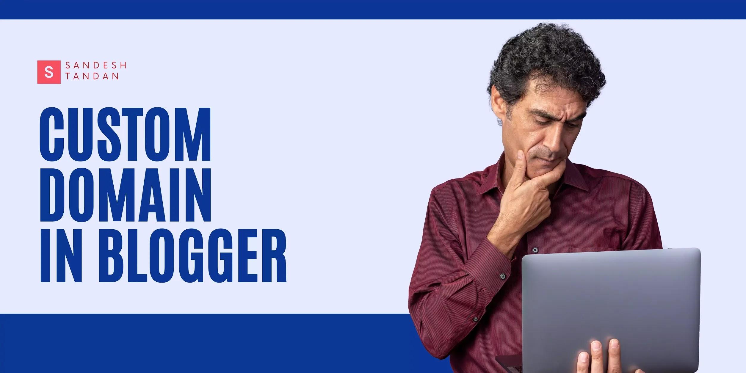Custom Domain in a Blogger