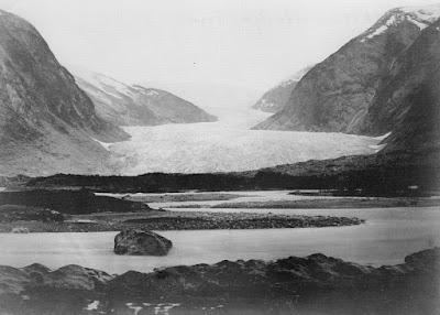 Glaciar Nigards en 1869