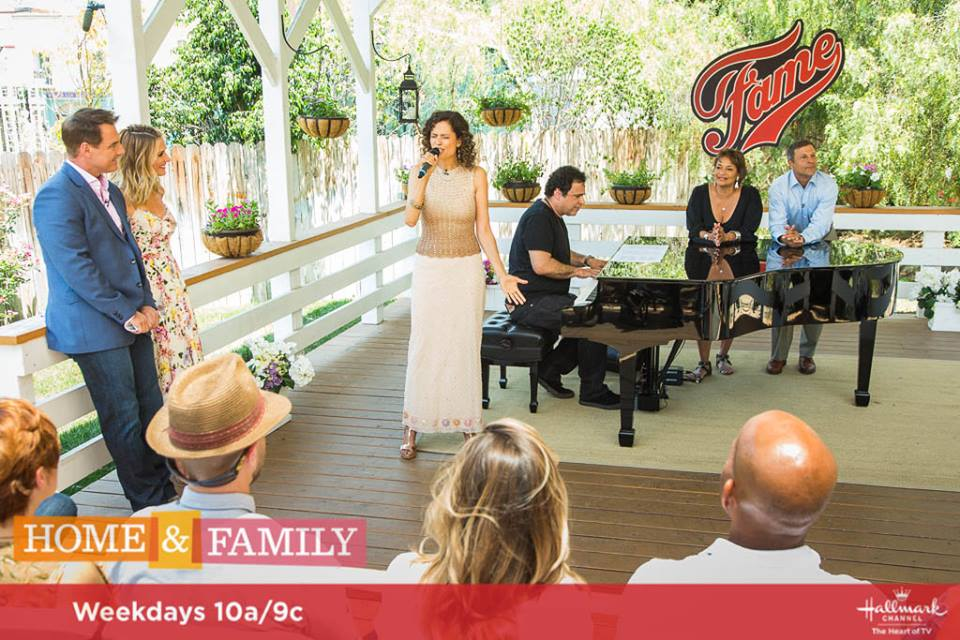 Kids From Fame Media Fame Cast On Home And Family 2017