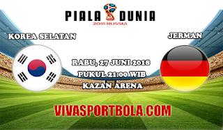 Prediksi Bola Korea Selatan vs Jerman 27 Juni 2018