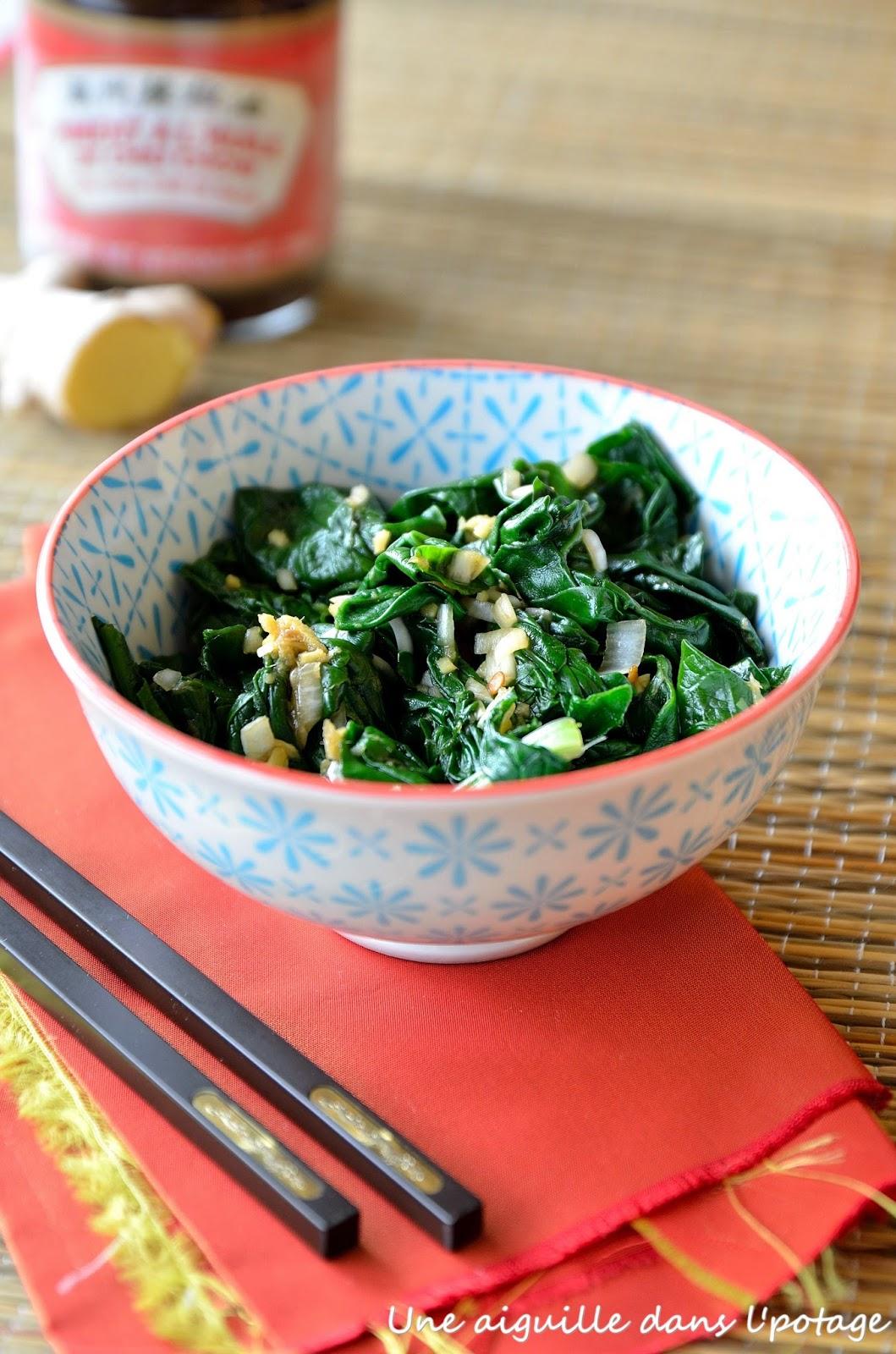 cuisine chinoise légumes