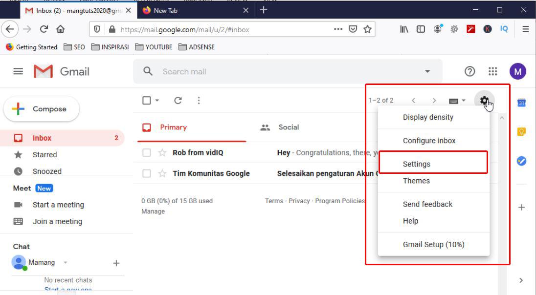 Cocoretan Cara Membuat Signature Di Email