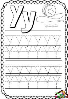 abecedario para trazar pdf