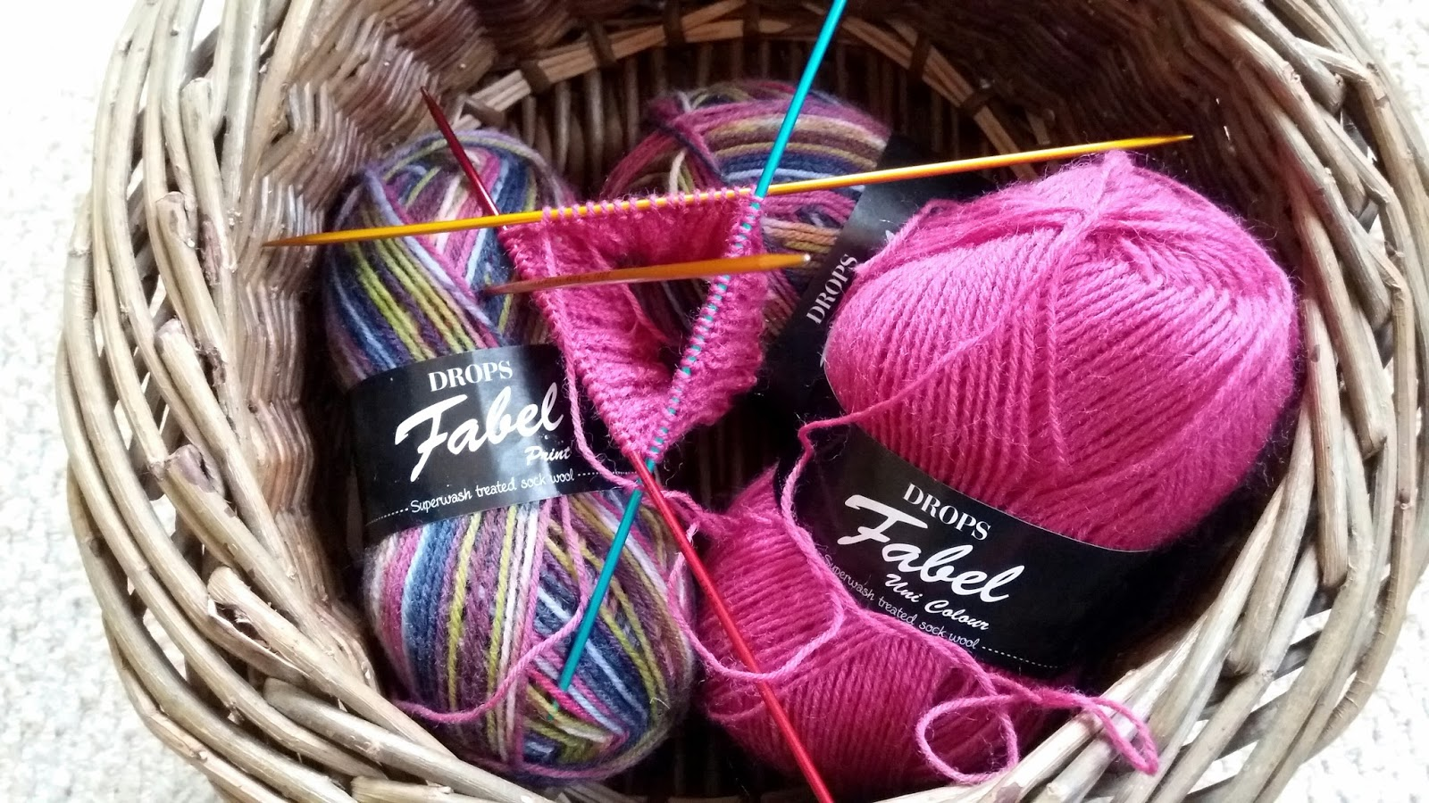 Knitting Ribbing Smaller Needles : Three stories high fourth time lucky