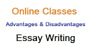 Essay on Advantages and Disadvantages of Online Classes