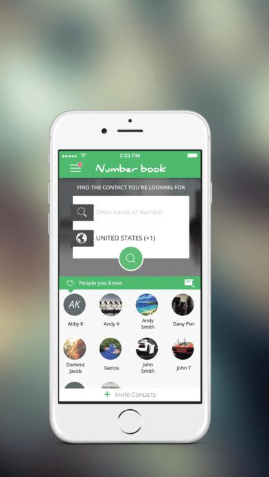 تنزيل تطبيق نمبر بوك number book للايباد و الايفون و الاندرويد الجديد اخر اصدار مجانا لمعرفة اسم المتصل ومكانة