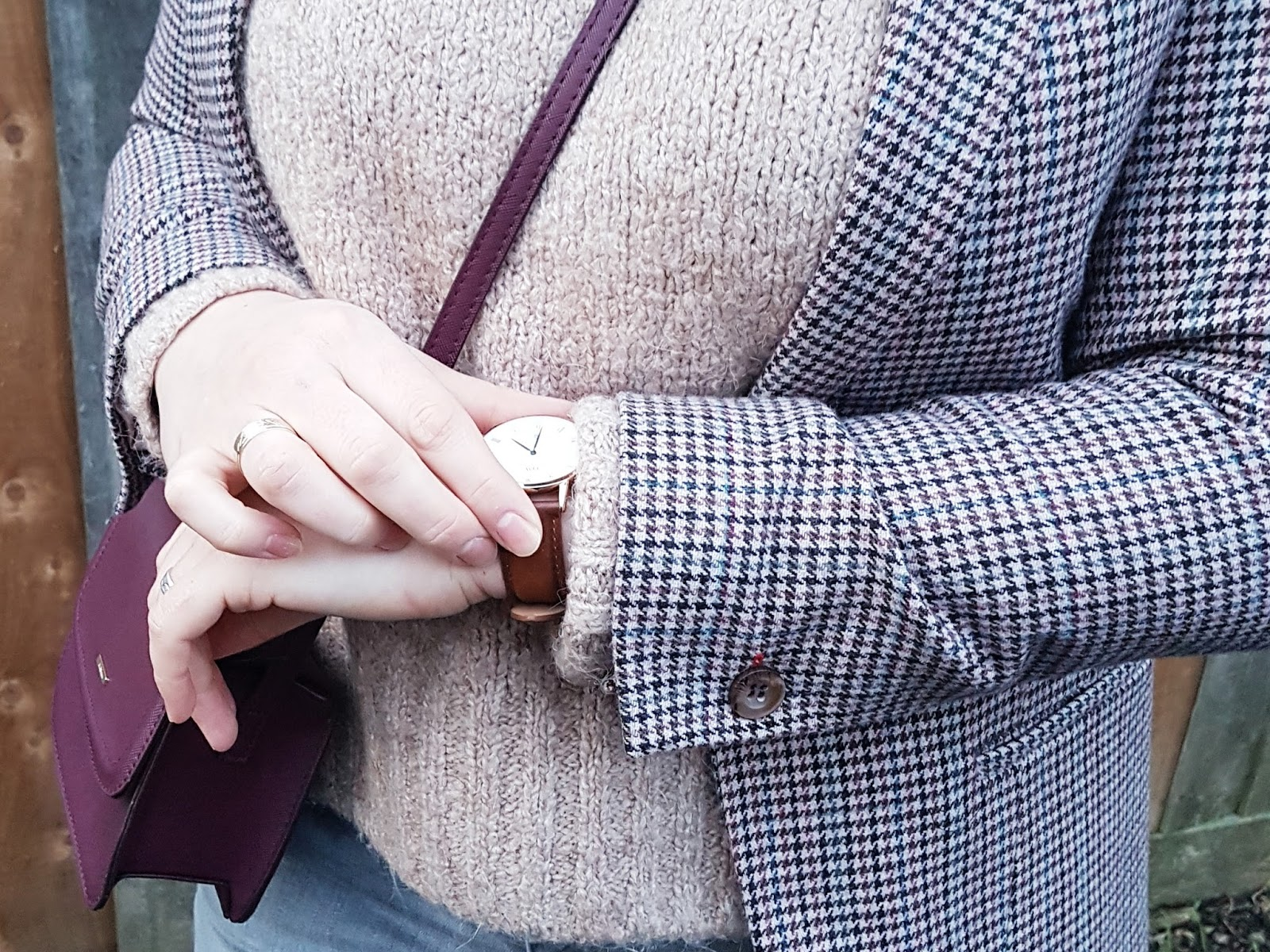 Tweed blazer & fedora hat czyli strój dnia