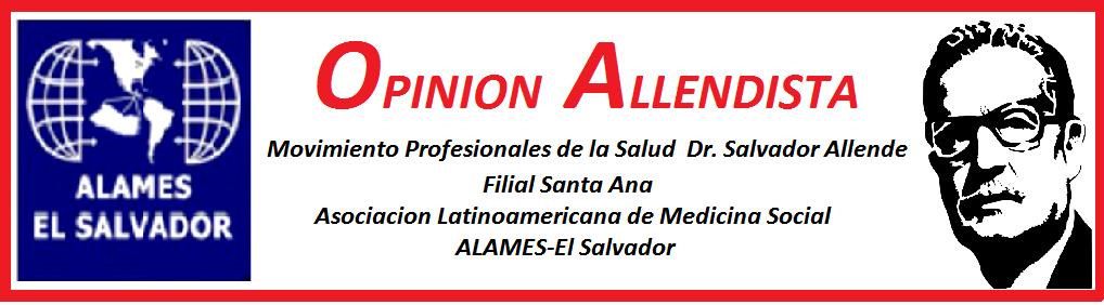 Movimiento  Profesionales de la Salud  Dr. Salvador Allende Filial  Sta Ana E.S.