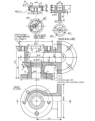 Machine Drawing Question Paper of 3rd Semester AE Download