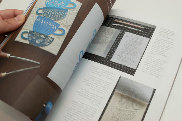 Inside the Artful Issue 3 Magazine - Tutorial page