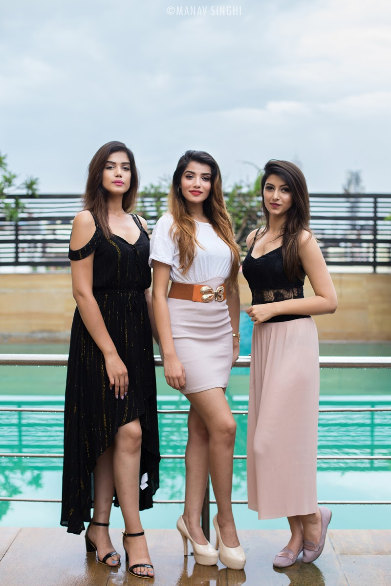 Divya Kasaliwal, Aditi Hundia and Sonakshi Chanana.