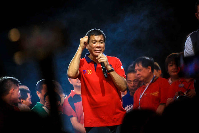 Mayor Rody Duterte man of the hour