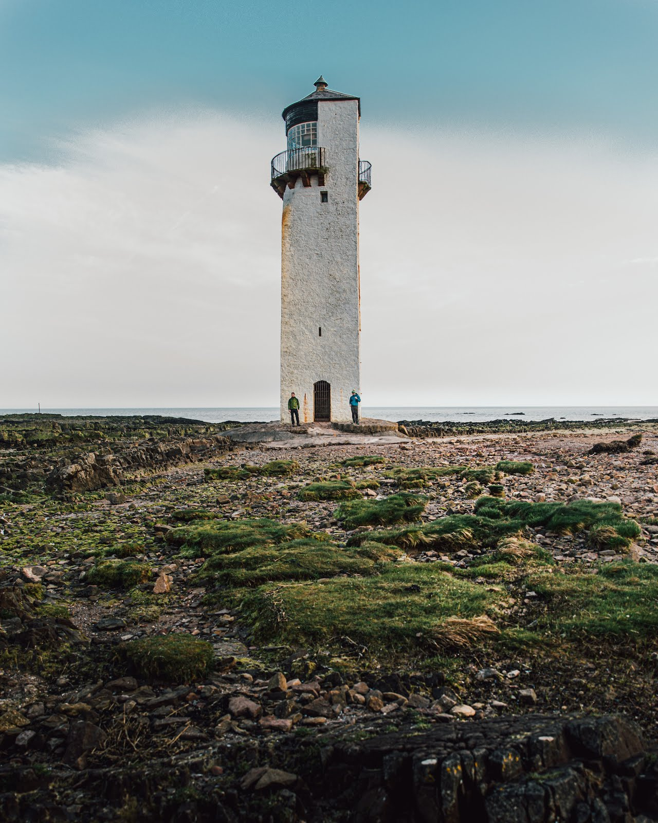southerness lighthouse visit dumfries and galloway scotland sea