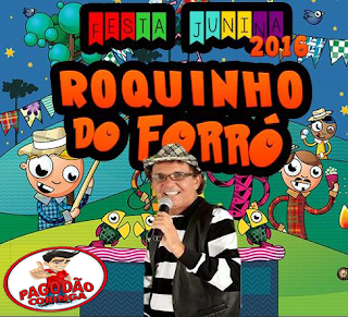 ROQUINHO DO FORRO - CD ARRASTA-PÉ SÃO JOÃO [2016]