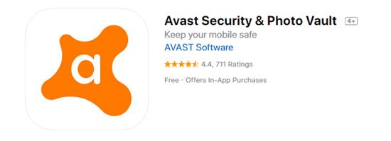Avast Security & Photo Vault
