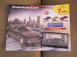 coleccion kioskos coches americanos