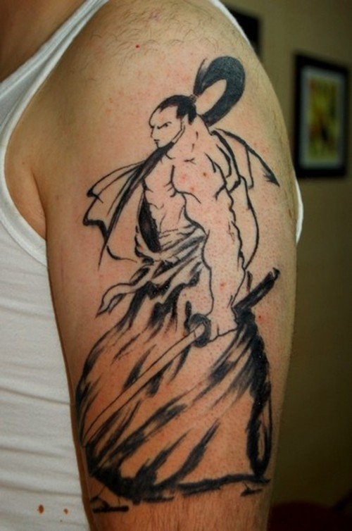 samurai tattoo 231
