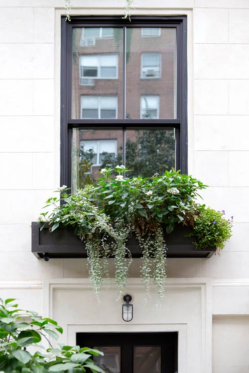 Townhouse Garden Design Reference Case: Manhattan Townhouse Garden