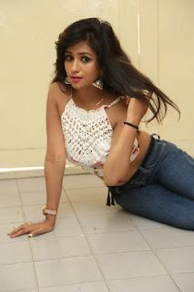 Deekshita Parvathi in a short crop top and Denim Jeans Spicy Pics Beautiful Actress Deekshita Parvathi January 2017 CelebxNext (173).JPG