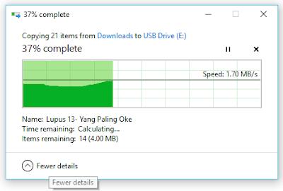 Cara Memindahkan / Menyimpan FIle Ke Flashdisk Dari Komputer dan Laptop