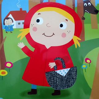 le joli panier du petit chaperon rouge