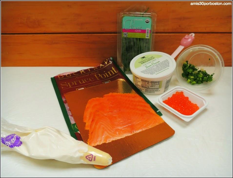 Ingredientes para Acompañar los Latkes