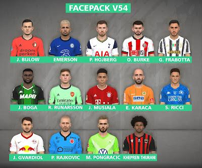 PES 2017 Facepack v54 by FR Facemaker