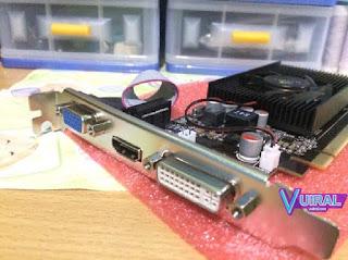 Contoh Komponen CPU Dan Fungsinya Beserta Gambarnya - VGA Card