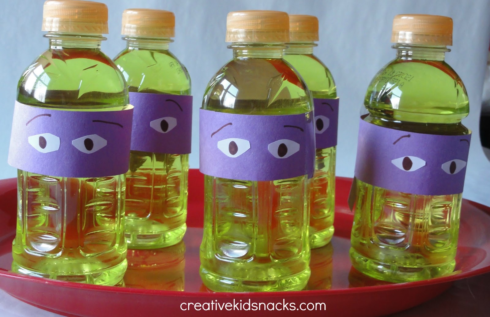 Creative Birthday Party Food: Teenage Mutant Ninja Turtles