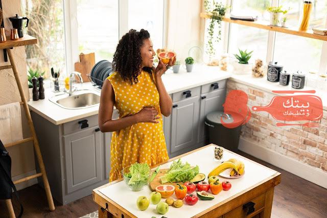 التغذية السليمة اثناء الحمل فى الشهور الاولى