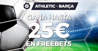 Paston promo Athletic vs Barcelona 6 enero 2021
