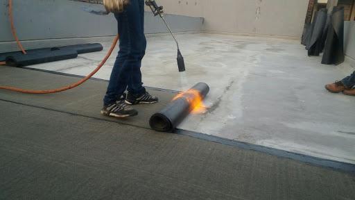 cara aplikasi membrane bakar