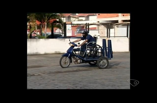 Estudantes criam moto adaptada para cadeirantes