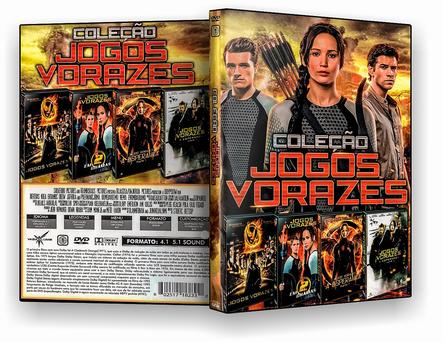 CAPA DVD – Coleção – Jogos Vorazes 4×1 – ISO