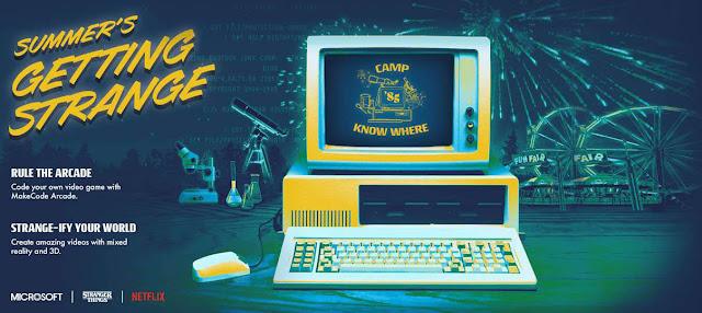 تطبيق غريب من مايكروسوفت يعيدنا الي عام 1985