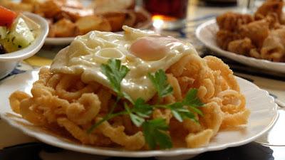 Calamares del Bar Jaica de Barcelona