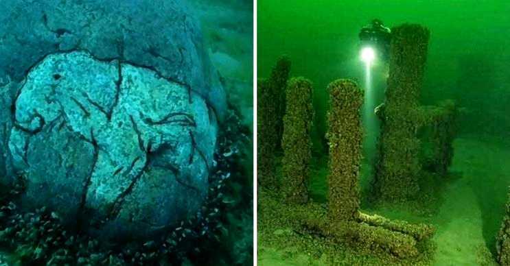 Michigan anıtı ya da ikinci Stonehenge olarak da bilinen bu yer henüz yeni keşfedildi.