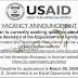 وظائف شاغرة في وكالة الانماء الامريكية USAID