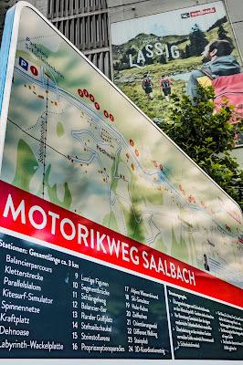 Motorikweg an der Saalachpromenade | Wandern mit Kindern in Saalbach 10