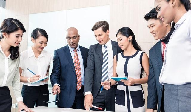 company employee communication team building activities