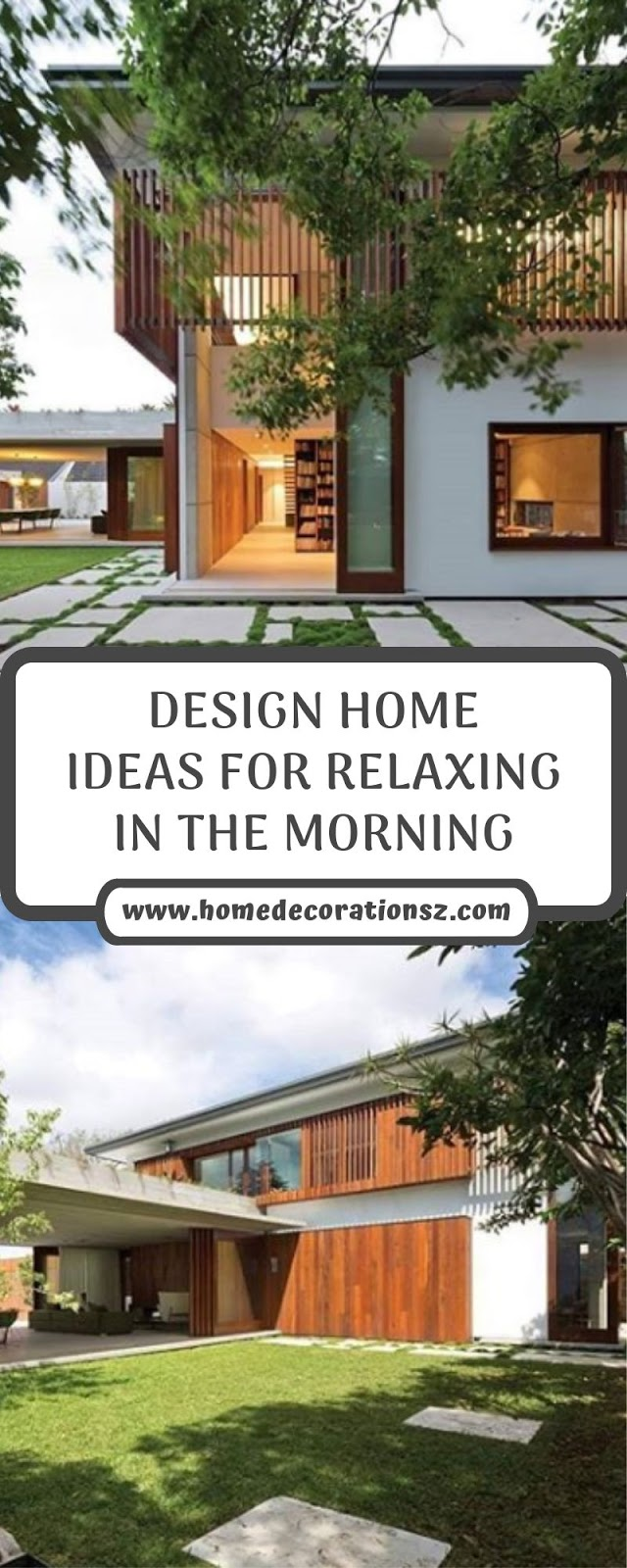 DESIGN HOME IDEAS FOR RELAXING IN THE MORNING
