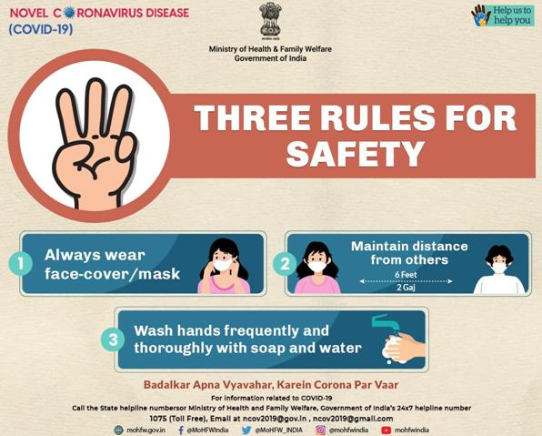 THREE-RULES-OF SAFETY