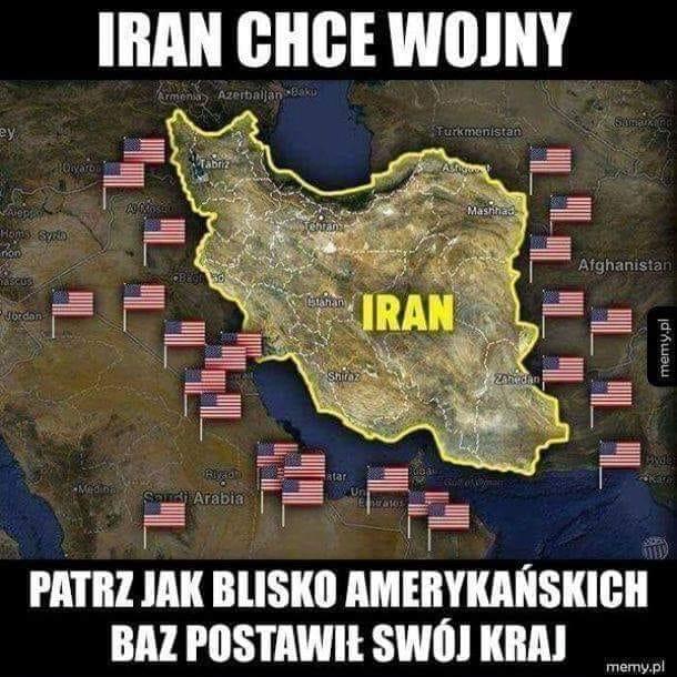 Iran planuje wojnę z USA