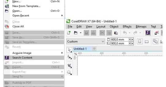 Cara Mengatasi Coreldraw X7 Tidak Bisa Save