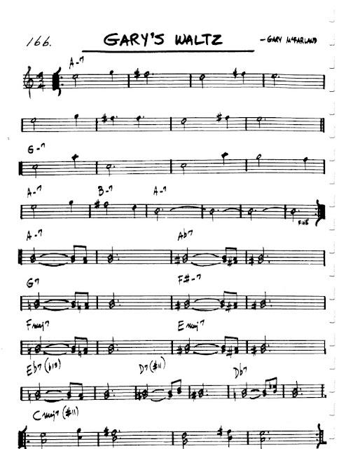 Partitura Violín Gary McFarland