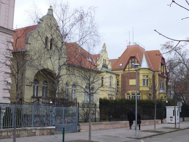 Dozsa György utca Budapest Hongrie