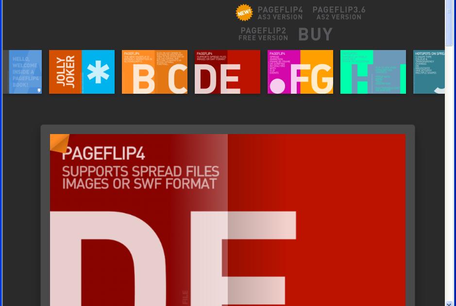 多媒體應用專業社群: pageFilp 教學(1) - 下載免費的(free)製作電子書(ebook) Flash的樣版