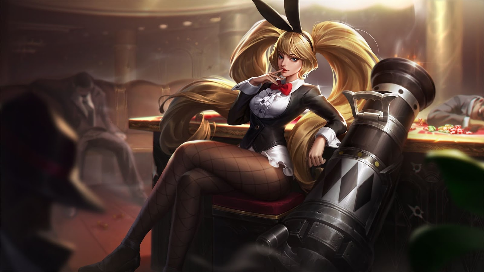 Wallpaper Layla Bunny Babe Skin Mobile Legends Full HD for PC